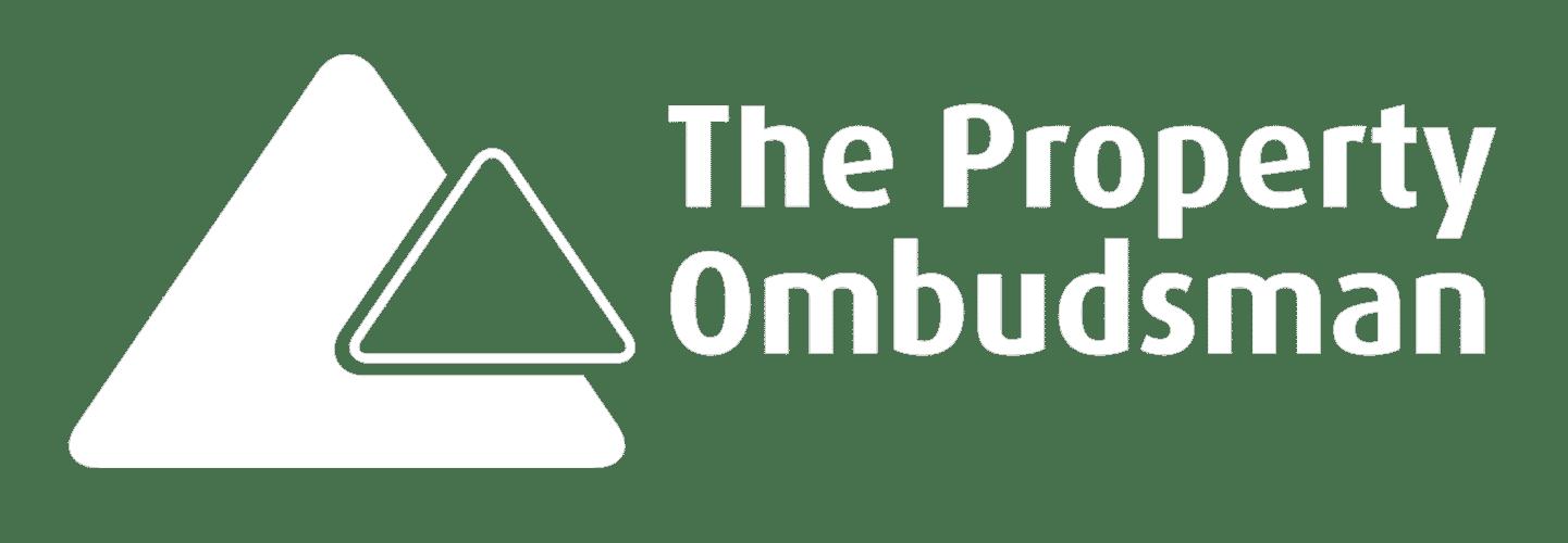 Property Obudsman Logo White